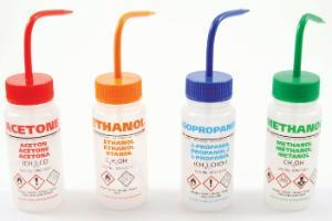 Multi-Lingual Wash Bottles