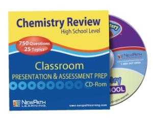 Science Classroom Presentation/Assessment Prep CD-Rom: Chemistry