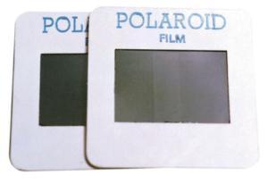 Polaroid Film Squares, Pair, 5 x 5 cm, Leica