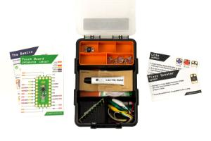 Crazy circuits with Bare Conductive® paint kit