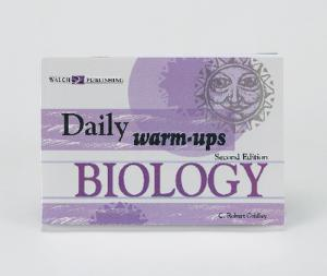 Book, Biology, Daily Warm Ups