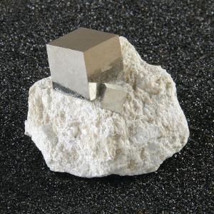 Pyrite (Cube in Matrix)