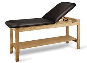 Adjustable Treatment Table with Shelf