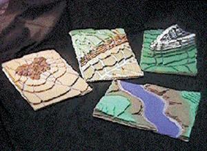 Geoblox Topographic Landform Models Set #1