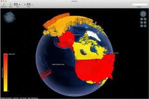 Layered Earth Meteorology Web