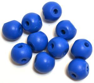 Three Hole Molecular Ball, Blue