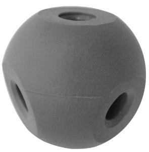 Four Hole Molecular Ball, Grey