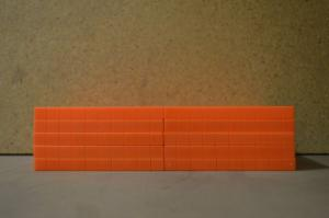 Flat Base Ten Orange Standard