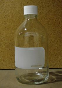 Bottle, Reagant with Pouring Spout, Wheaton