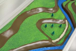 Stormwater Floodplain Simulation System, Clay-Levee