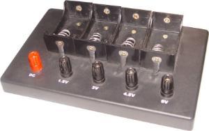Battery Holder with Plug Jacks