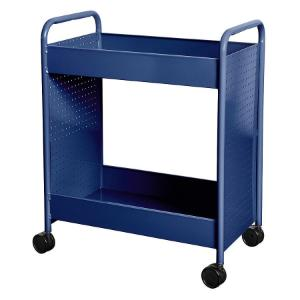 "Cart steam two 4"" deep trays blue"