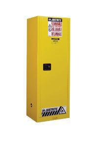Justrite® Slimline Flammables Safety Cabinet