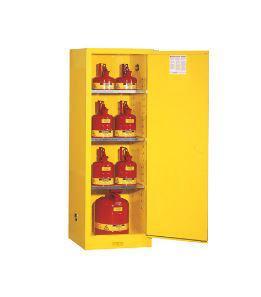 Justrite® Slimline Flammables Safety Cabinet
