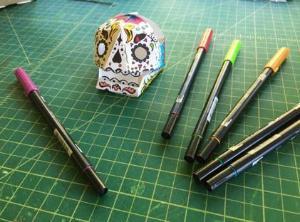 UV Papertronics Skulls Classroom Pack