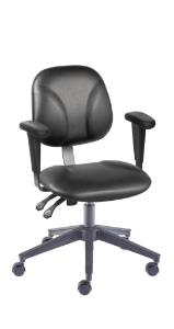 VWR® Contour™ Deluxe FFAC Lab Chairs with Arms