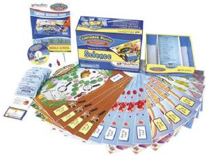 Curriculum Mastery® Game — Middle School Physical Science