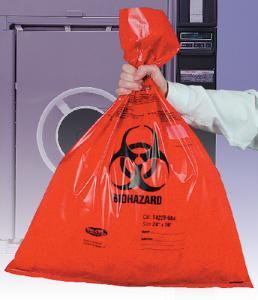 VWR® Autoclavable Biohazard Bags, Double Thick