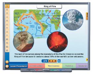 NewPath VOLCANOES Interactive Whiteboard Digital Download