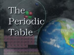 The Periodic Table DVD