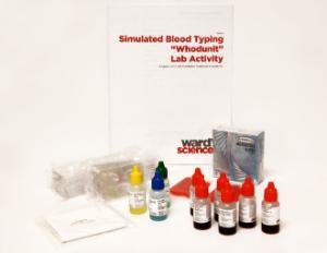 "Simulated Blood Typing ""Whodunit"" Kit"
