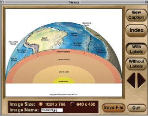 Earth Science Graphics Portfolio CD-ROMs