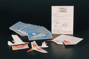 Dip-er Do Boomerang Stunt Plane Kit