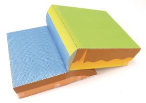 Model kit tectonics plates