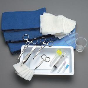 Minor Laceration Tray, Disposable Grade, Sklar®