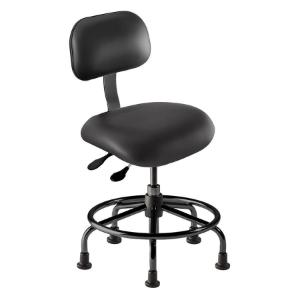 Biofit eton series ergonomic seating, Low seat height range with steel base, affixed footring and glides