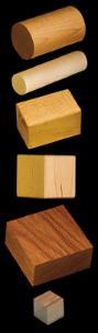 Wooden Density Specimens
