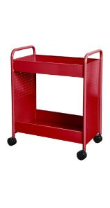 Steam cart, ruby red