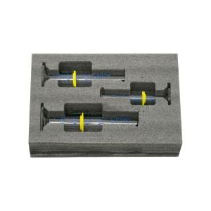 Safety pack measuring cylinder set, 10. 25, 50 ml, class A