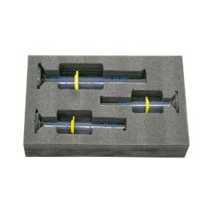 Safety pack measuring cylinder set, 25, 50, 100 ml, class A