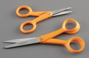 Fiskars™ General-Purpose Brushed Stainless Steel Scissors