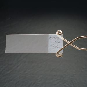 Etched Microscope Slides