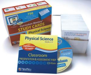 Curriculum Mastery® Study Cards: Physical Science
