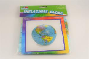 Globe inflatable 11 inches in dia.