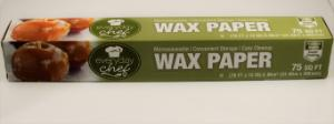 Wax paper 12in×75ft roll