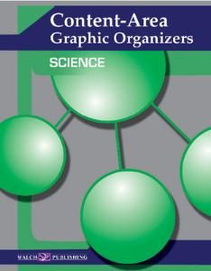 Content Area – Graphic Organizers For Science