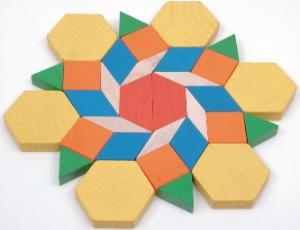 Block Pattern Plastic