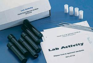Ward's® Flame Test and Spectral Analysis Lab Activity