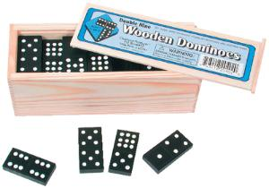 Hardwood Dominoes