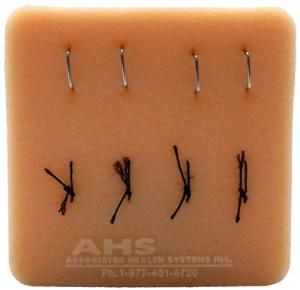 Wallcur® PRACTI-Suture/Staple Removal Pad