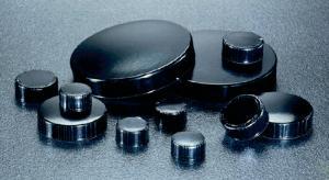 Black Phenolic Screw Caps, Pulp/Vinyl Liner, Qorpak®