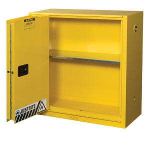 30 gallon Self-Closing Bi-Fold Cabinet
