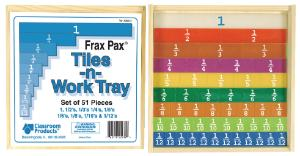 Rainbow Fractions® Tiles -n- Work Tray