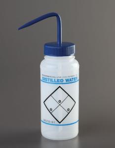 Labeled Wash Bottles