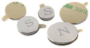 Neodymium Disk Magnet with Adhesive Film
