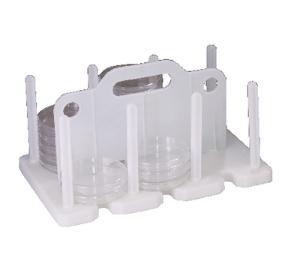 Polypropylene Petri Dish Rack